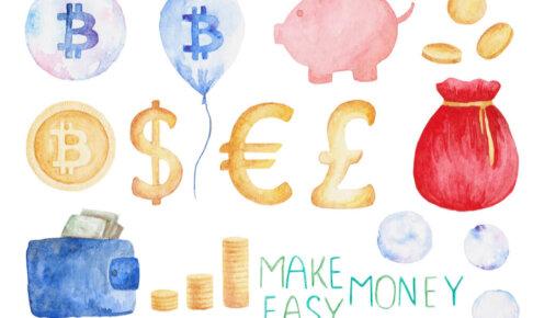 新月の願い事お金